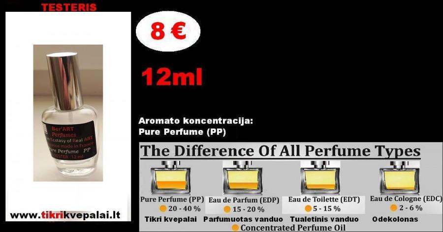 "Karolina Herera ""Du12"" MEN Kvepalai vyrams TESTERIS 12ml (Parfum) Pure Perfume"