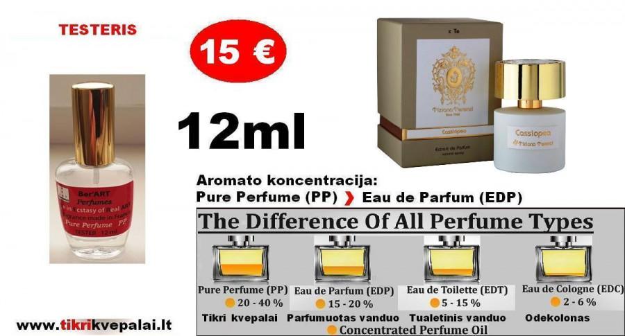 """""""TIZZIANA TERENZI"""" CASSIOPEA 12ml (PP) Pure Perfume Nišiniai kvepalai moterims ir vyrams"""