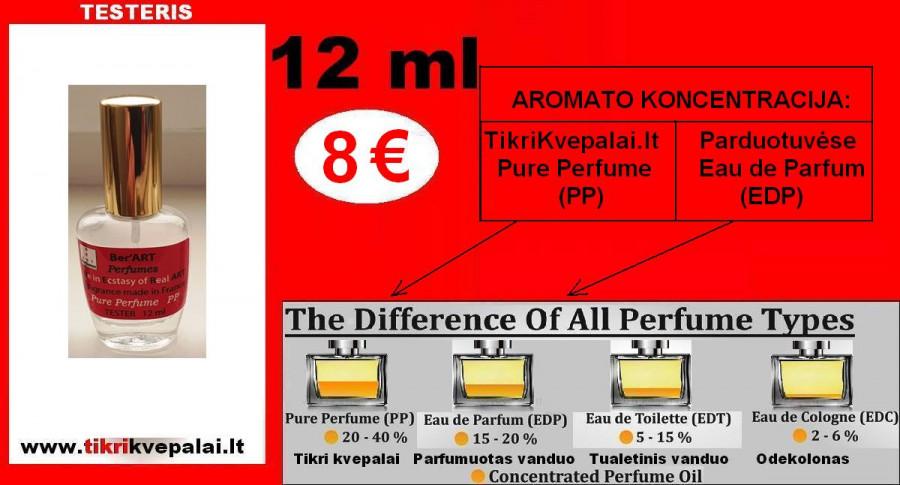 "KAROLINA HERERA ""DU12"" VIP 12ml (Parfum) Pure Perfume Kvepalai Moterims"