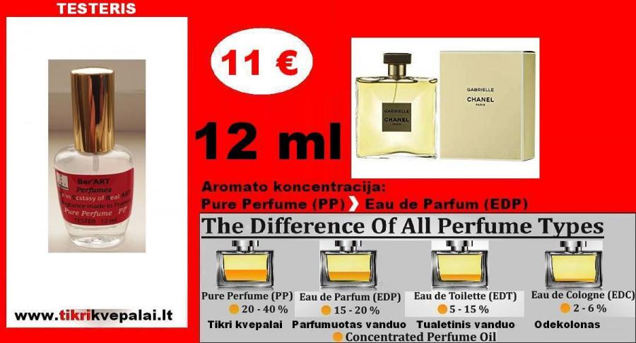 CHANEL GABRIELLE Kvepalai Moterims TESTERIS 12ml (Parfum) Pure Perfume