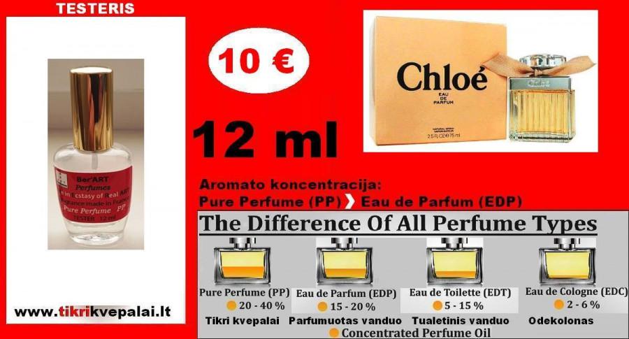 CHLOE by Chloe Kvepalai Moterims TESTERIS 12ml (Parfum) Pure Perfume