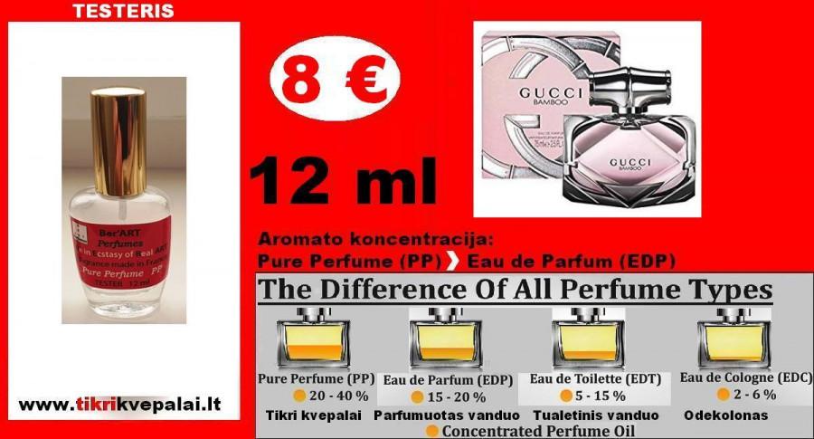 """GUCCI"" BAMBOO Kvepalai Moterims 12ml (Parfum) Pure Perfume"