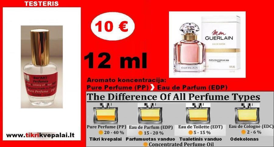 """GUERLAIN"" MON Kvepalai Moterims 12ml TESTERIS (Parfum) Pure Perfume"