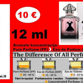 """GUERLAIN"" LA PETITE ROBE NOIR Kvepalai Moterims 12ml TESTERIS (Parfum) Pure Perfume"