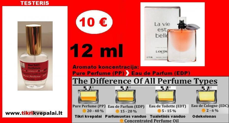 LANCOME La Vie Est Belle 12 ml (Parfum) Pure Perfume Kvepalai Moterims