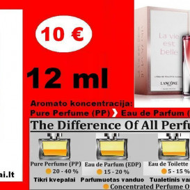 """""""LANCOME"""" La Vie Est Belle FLORALE Kvepalai Moterims 12ml TESTERIS (Parfum) Pure Perfume"""