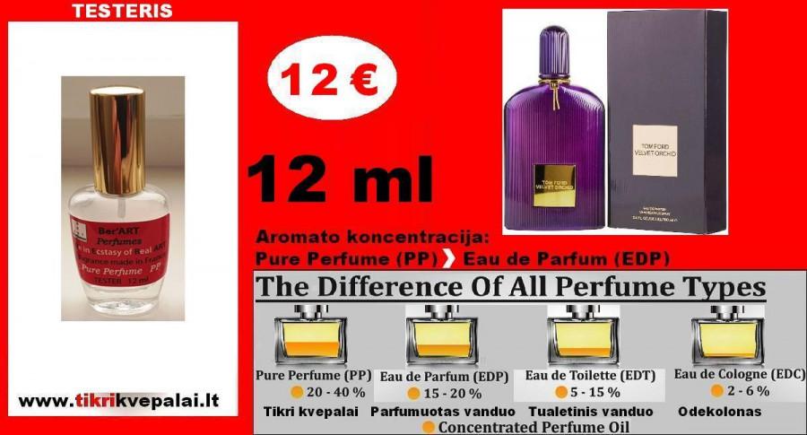 """""""TOM FORD"""" VELVET ORCHID 12 ml (PP) Pure Perfume Kvepalai Moterims"""