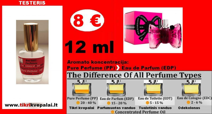 """VIKTOR & ROLF"" BONBON Kvepalai Moterims 12ml TESTERIS (Parfum) Pure Perfume"