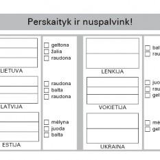 BORUŽĖLĖS UŽDUOTĖLĖS