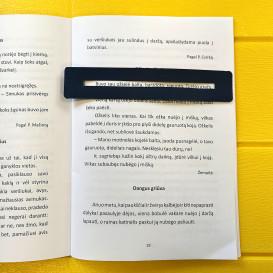Skaitymo liniuotė – pagalbininkė