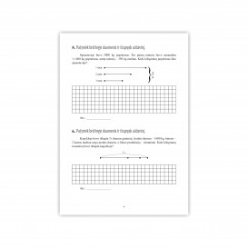 Reda Jaseliūnienė. MATEMATIKA. Tekstiniai uždaviniai. 4 klasė II dalis. Sudėtis, atimtis, daugyba, dalyba