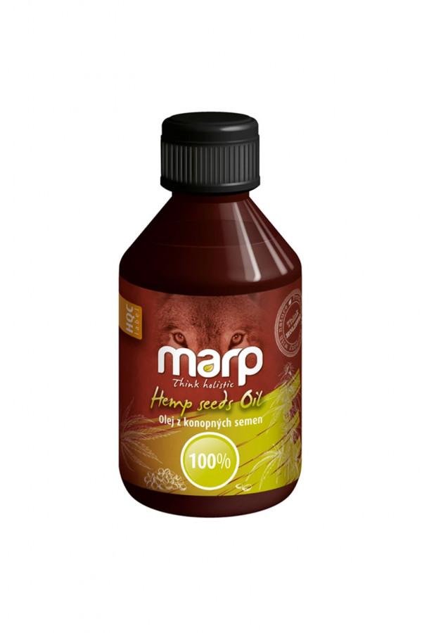 Marp Think Holistic – šalto spaudimo kanapių sėklų aliejus