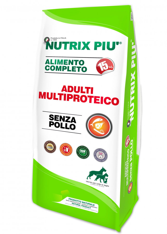 NUTRIX PIU-MULTIPROTEICO ADULTI