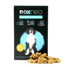 DOXNEO begrūdžiai sausainiai šunims su antiena ir apelsinais