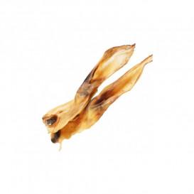 Džiovintos triušių ausys