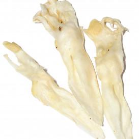 Džiovintos triušių ausys (baltos)