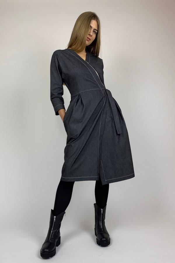 Džinsinio audinio suknelė