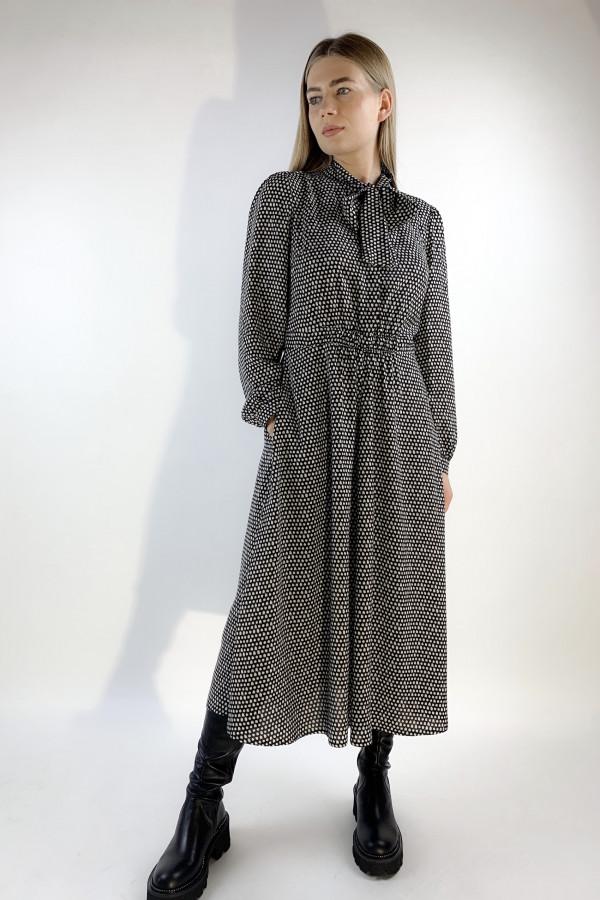 Suknelė iš viskozės