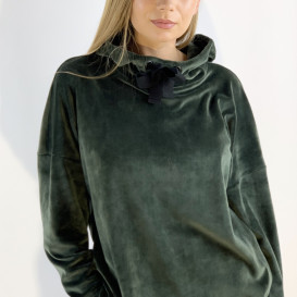 Smaragdo spalvos džemperis