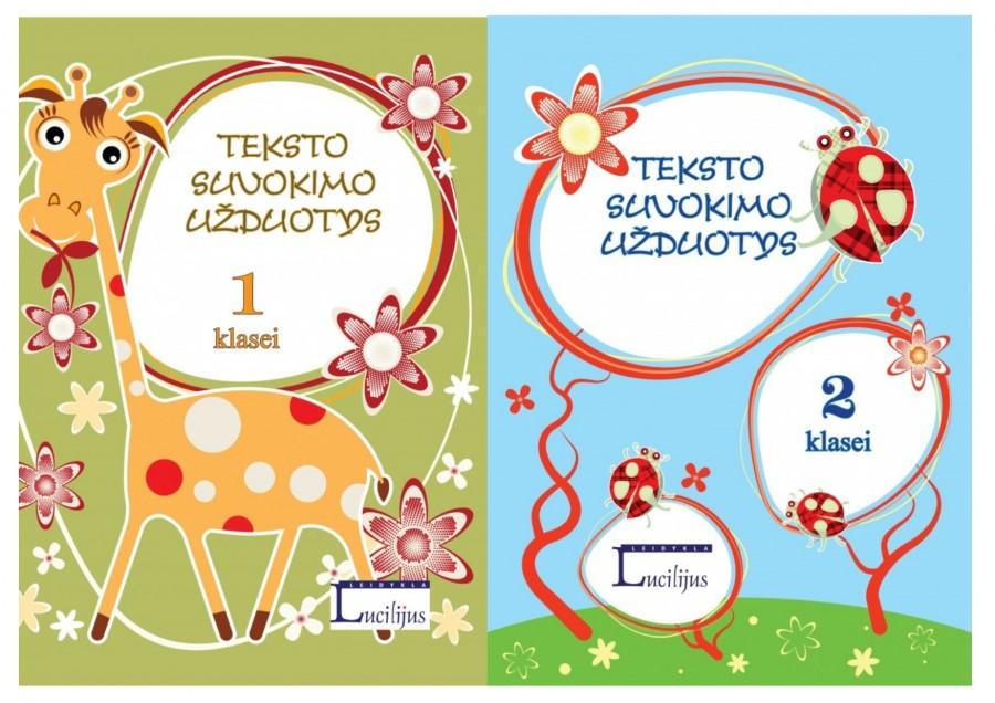 KOMPLEKTAS. Vytautas Šalavėjus. Teksto suvokimo užduotys 1-2 klasėms