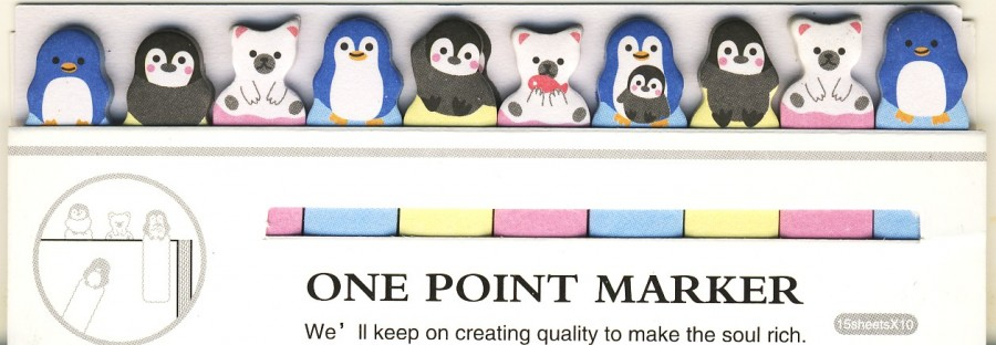 """Lipnūs lapeliai """"Pingvinai ir meškiukai"""" (m)"""