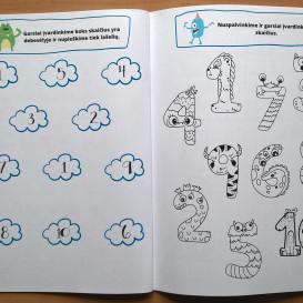 Simona Šimkutė. Monstriukų pamokėlės. Užduotys 3–4 metų vaikams