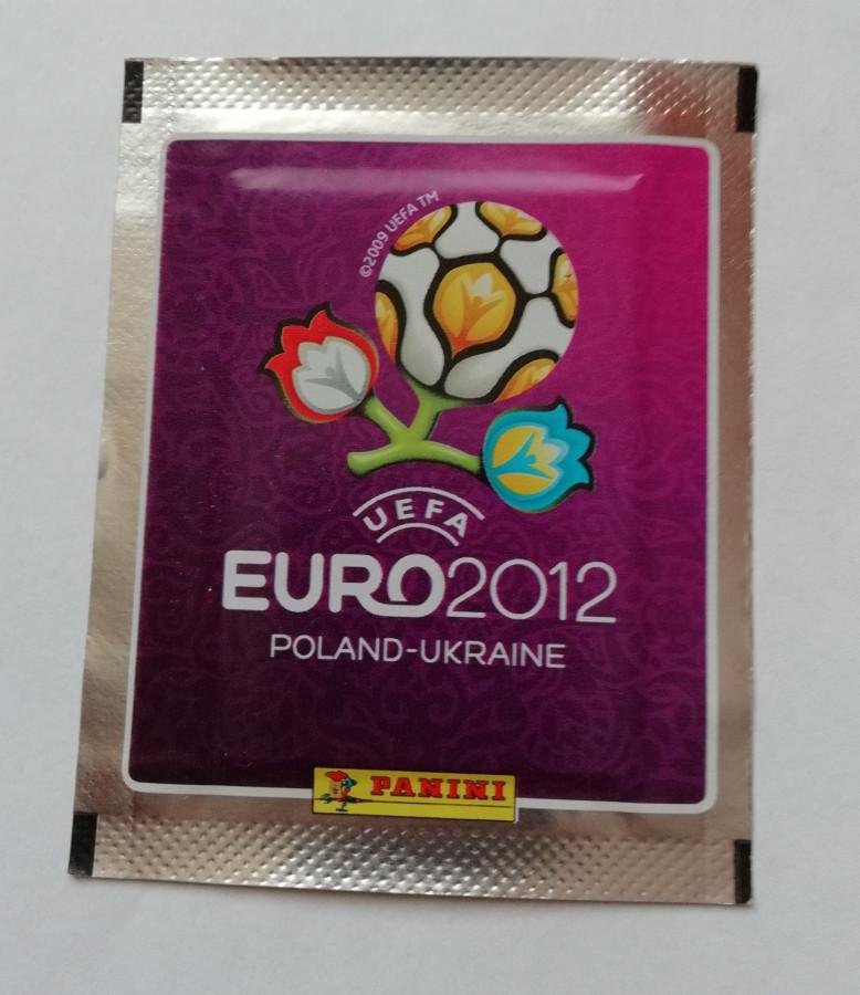 UEFA Euro 2012 čempionatui Lenkijoje ir Ukrainoje skirti lipdukai (10 lipdukų pakelių. Iš viso 50 lipdukų)