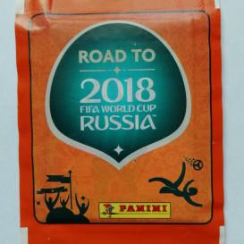 Road to Russia 2018 Fifa World Cup pasaulio futbolo čempionatui skirti lipdukai (10 lipdukų pakelių. Iš viso 50 lipdukų)
