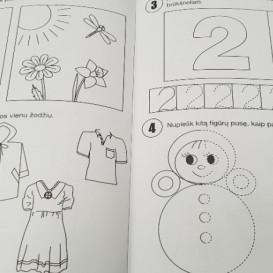 Lavinamieji pratimai 4-mečiams