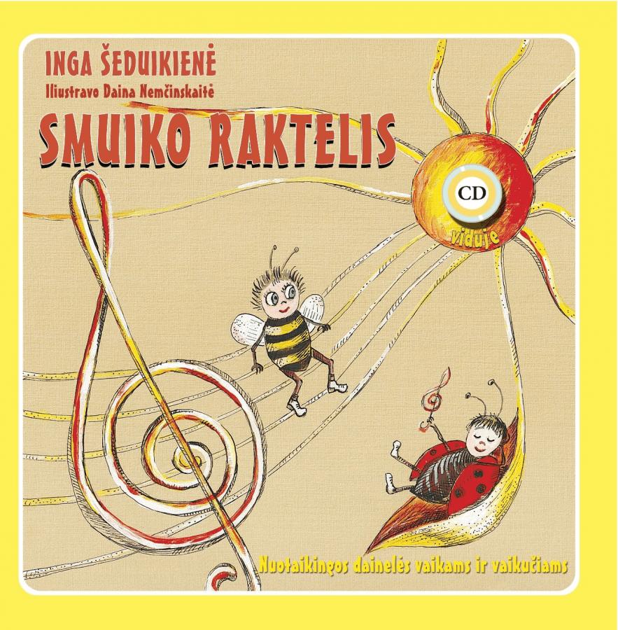 Inga Šeduikienė. Smuiko raktelis + CD