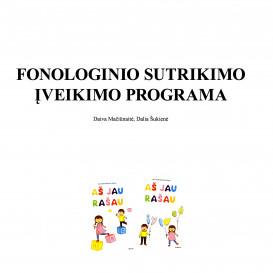 Fonologinio sutrikimo įveikimo programa