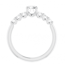 Sužadėtuvių žiedas su 0.50 CT briliantu