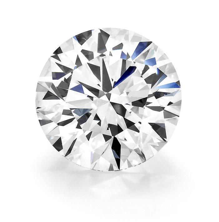 0.10 Ct Deimantas F / SI1