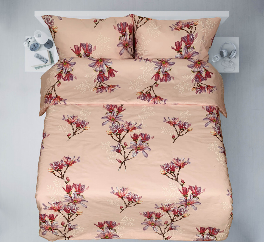"Patalynės komplektas ""Magnolia blossoms pink"""