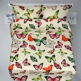 """Patalynės komplektas """"Butterflies soft green"""""""