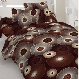 "Patalynės komplektas ""Brown circles"""
