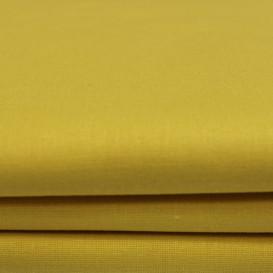 """Drobės paklodė """"Sun yellow"""""""