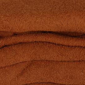 Frotinė paklodė su guma (ruda)