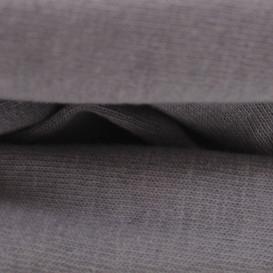 Trikotažinė paklodė su guma (tamsiai pilka)
