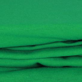 Trikotažinė paklodė su guma (tamsiai žalia)