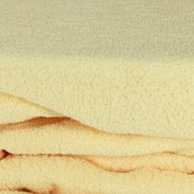 Frotinė paklodė su guma (šviesus abrikosas)
