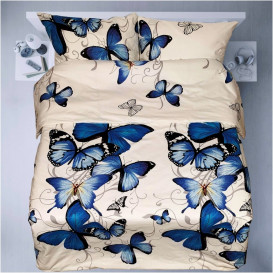 "Patalynės komplektas ""Blue Butterflies"""