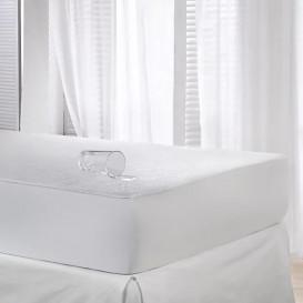 Neperšlampama paklodė su guma (balta)