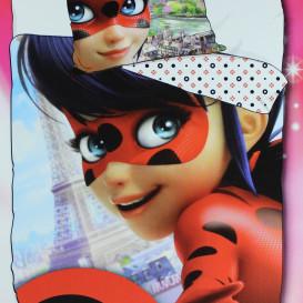 """Dviejų dalių patalynės komplektas """"Miraculous Ladybug"""""""