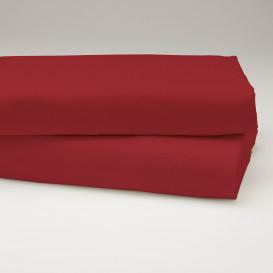 Drobinė paklodė su guma (vyšninė)