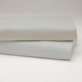 Drobinė paklodė su guma (šviesiai pilka)