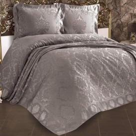 """Prabangi turkiška lovatiesė """"Venera"""" (pilkos spalvos)"""