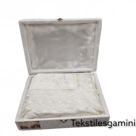 "Turkiška staltiesė ""Hayal"" balta"