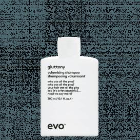 Gluttony apimties suteikiantis šampūnas