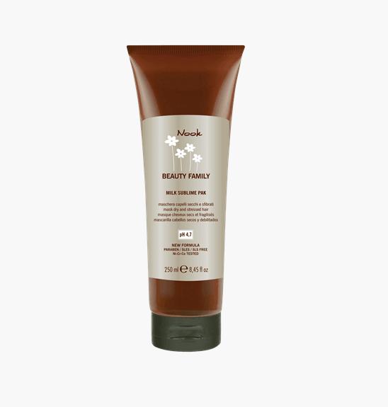 Milk sublime kaukė sausiems ir pažeistiems plaukams (pH 4,5)